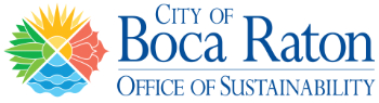 City of Boca Office of Sustainability Logo