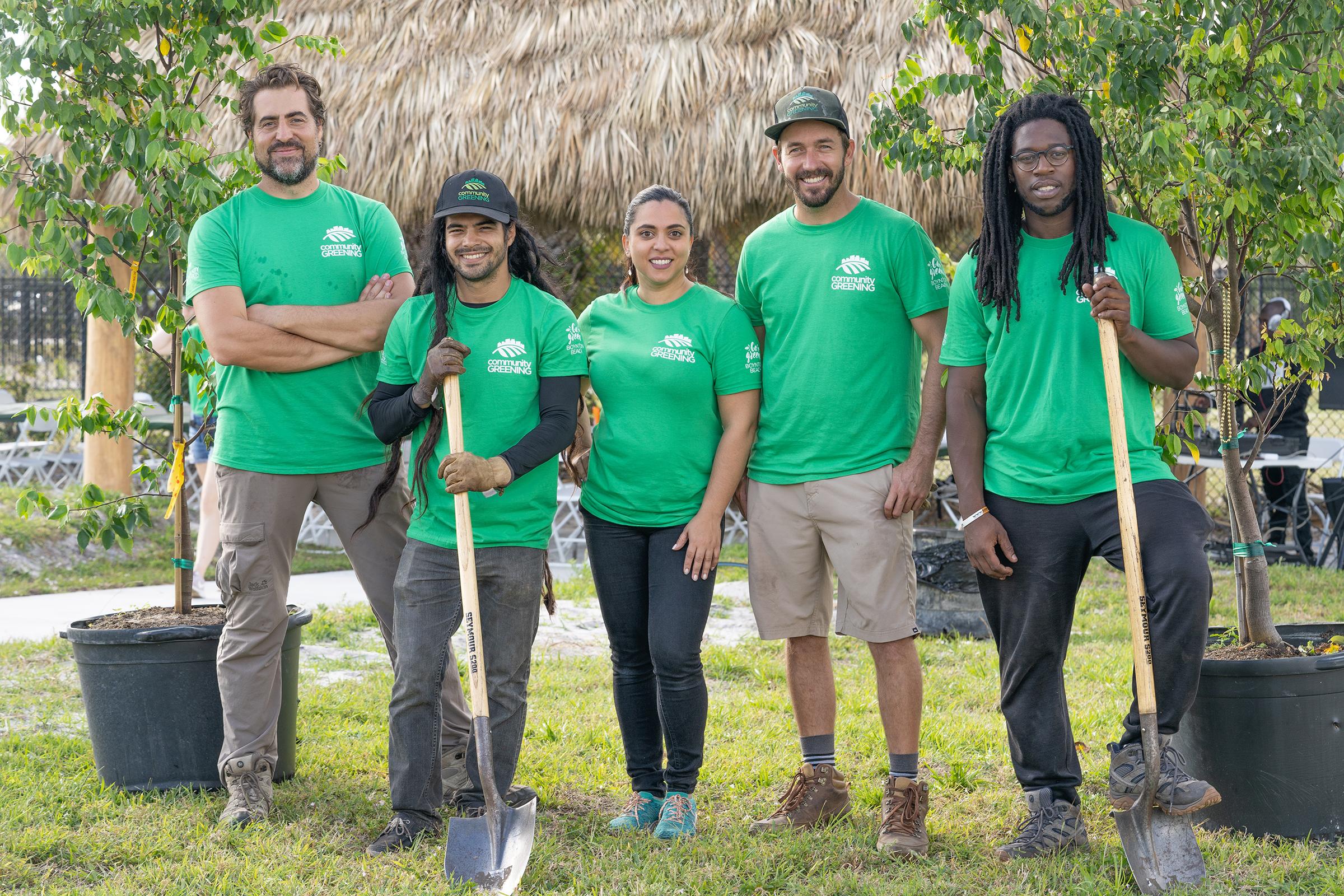 Community Greening Team Photo
