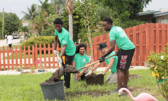 Residential Planting Program